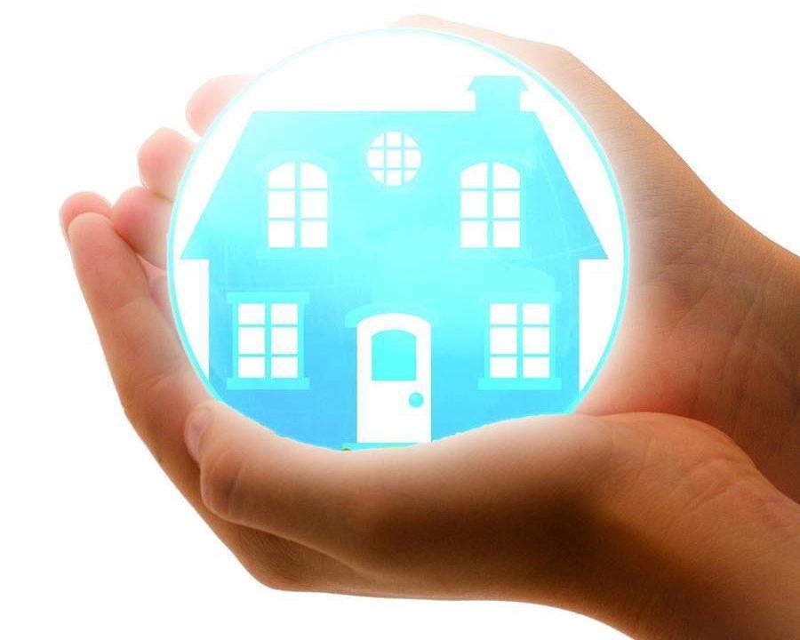 家を保護する